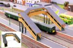 Gaugemaster Structures GM403  Fordhampton Footbridge Plastic Kit